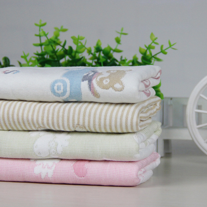 Eight layer gauze baby cotton face towel wipes shampoo take a sponge bath towel MT102271