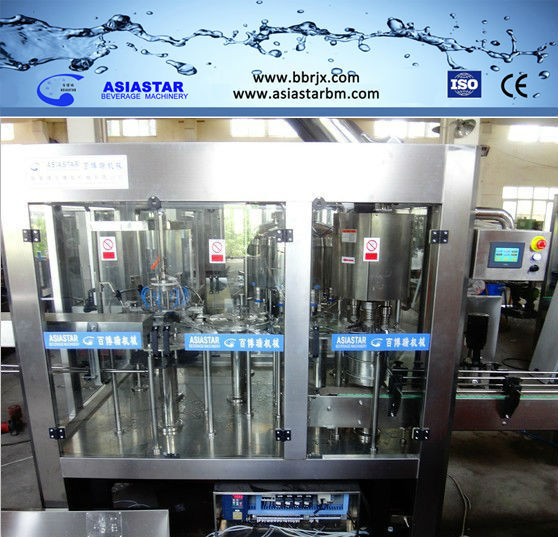 2016 New PLC control customer recommend drinking water filling and capping machine