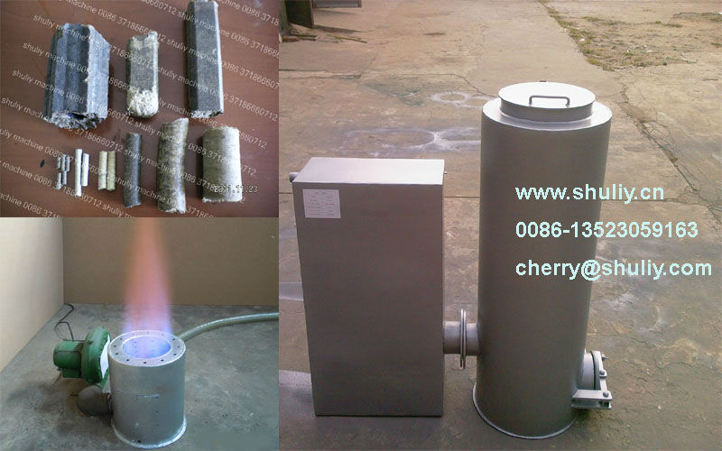 simple operation biomass gasifier with filter and cooker 0086-15238616350