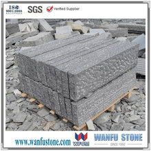 Granite bush hammered finish paving stone for sale