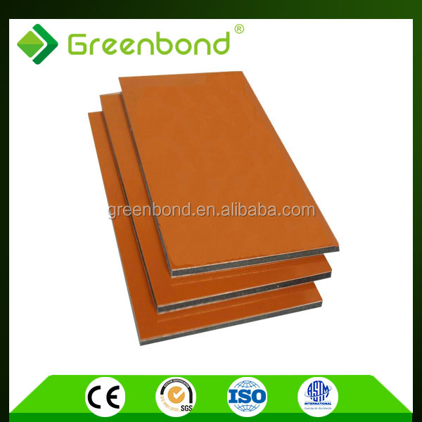 Greenbond aluminium composite panel manufacturer design for office partition