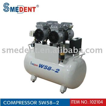 Oilless Air Compressor Dental Supply SW58-2