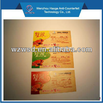 printing voucher for seasonal food