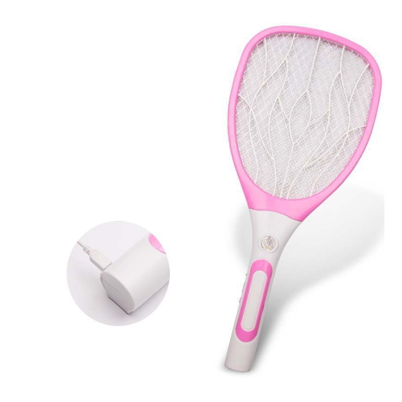 Practical Rechargeable Multi-layer Mesh Electric Mosquito Swatter EM-006