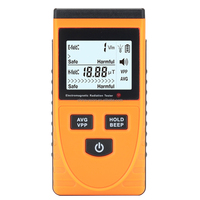 Electromagnetic Frequency Radiation Detector - 5Hz To 3500MHz, 1 To 1999V/m Range, LCD Display