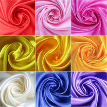 100% Polyester Colorful Cheap Satin Fabric In Bangalore