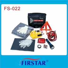 road rescue first aid kit auto survival kit made in China