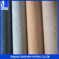 New design good quality 1.2mm pu automotive leather textiles leather with printing and kneading for sofa or car seat