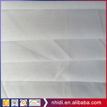 woven fusible polyester cotton tc interlining fabric white pocket lining fabric