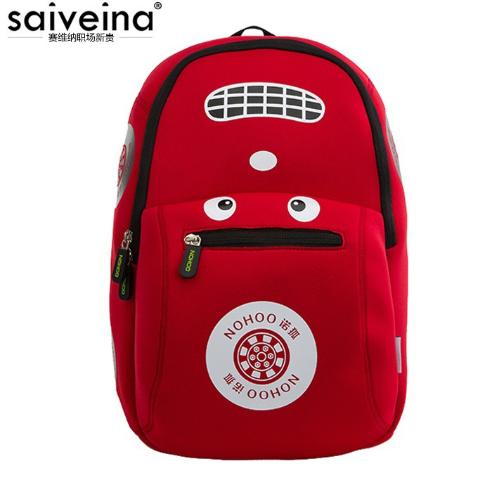 2015 new summer style unqiue light weight colorful racing car children japanese style backpack from Saiveina