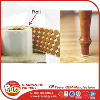 Hot selling furniture protector adhesive cork pad