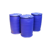 210 liter HDPE clean used plastic drums barrels for chemical packing