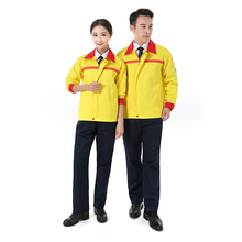 Antistatic <strong>Safety</strong> Working Clothes Overalls Logo Print Working Uniform Sets Clothes