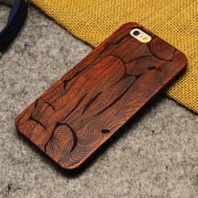 bulk cheap wholesale mobile phone cases wood back cover,customized logo engraved wooden case for iphone 5 real wood bamboo + PC