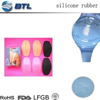 Outstanding elasticity liquid silicone rubber for breast