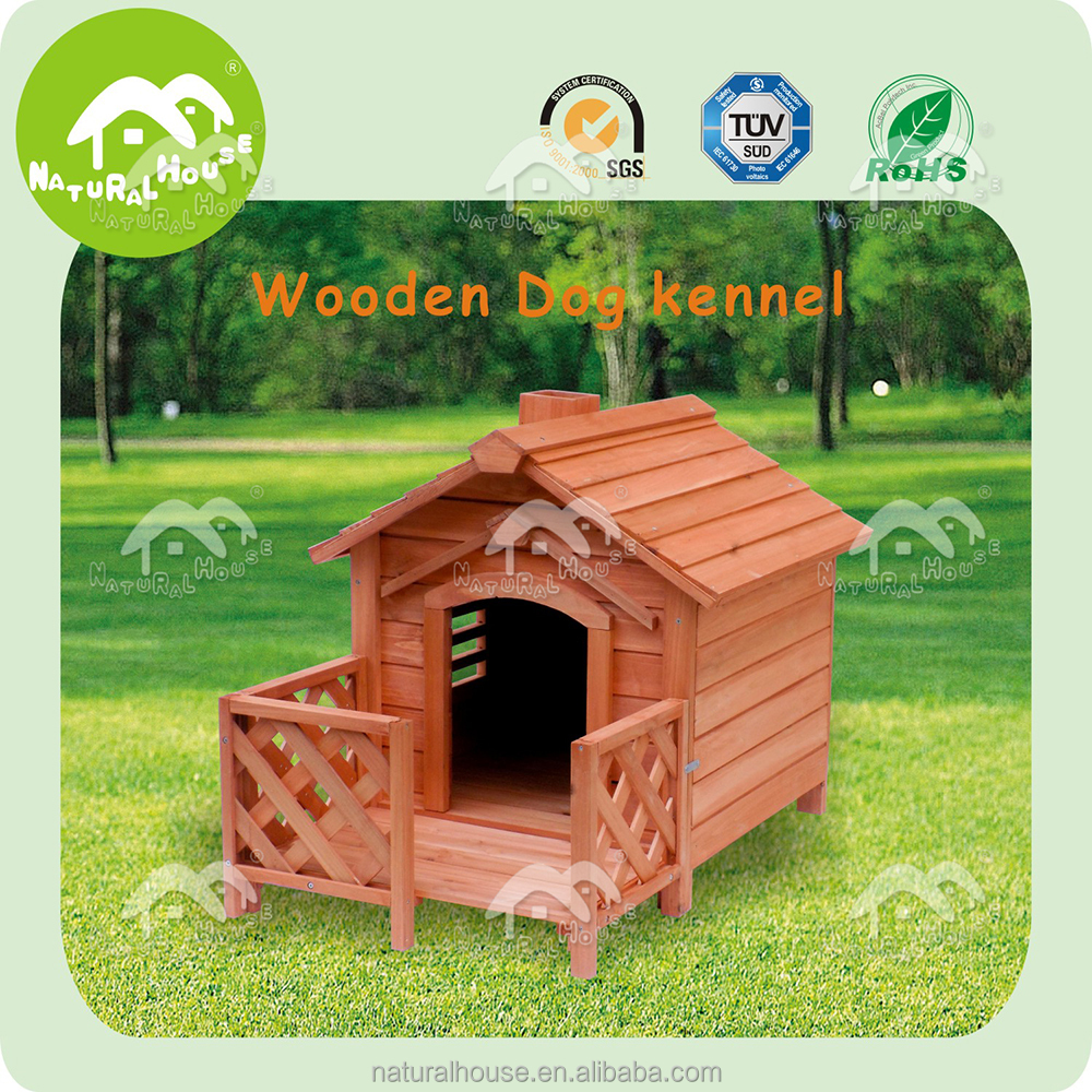 Hot-sale Quality wooden dog kennel, wholesale dog house