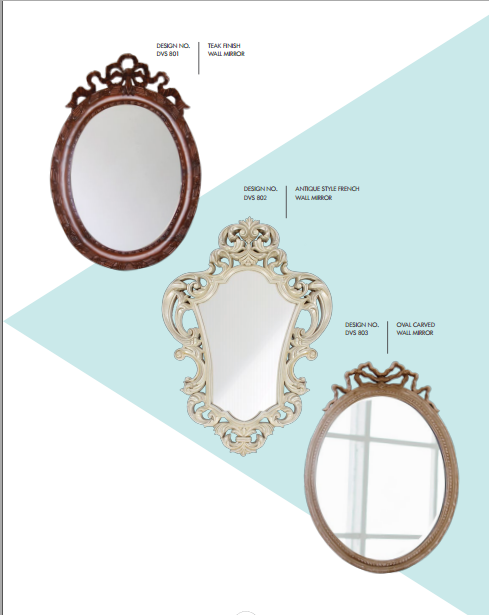 Antique Style French Wall Mirrors