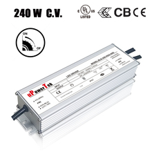 240W 12V 24V 36V 48V UL Class P IP67 waterproof 120V 277V constant voltage 10kV protection dimmable LED driver for LED strips li