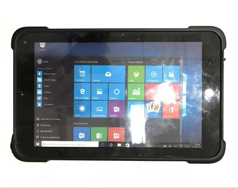 Cheapest 8 Inch Industrial Tablet IP67 Intel Cherry Trail Z8350 Android 5.1 And Windows 10 Rugged Tablets Computer