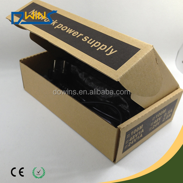 with LED injector & splitter poe 48V 30W passive poe switch adapter
