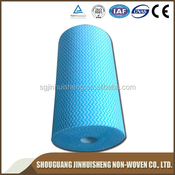 Wholesale colorful spunlace nonwoven fabric from China