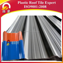 waterproof plastic materials UPVC roof tile