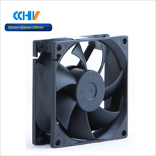 high speed mini dc axial fan 80x80x25mm