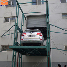 5m outdoor hydraulic freight garage car lift elevator