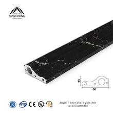 Potentech thermal insulation pvc cove moulding for house decoration pvc cove trim