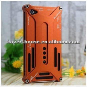 2011 Hot metal case for iphone 4 Arachnophobia Durable for iphone4 case aluminum bumper case for iPhone 4S