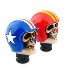 polyresin skull gear shift knob Racing theme
