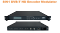 8IN1 H.264 HDMI encoder DVB-T Modulator (8HDMI in, DVB-T RF out, max support 1080i)