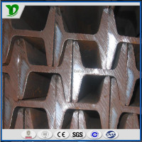 wide flange galvanized mild steel i beam q235 ss400 dimentions price jis din in china