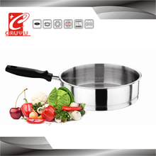 new products stainless steel frying pan dry cooker pan CYFP324-16