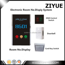 Electrical Hotel Do Not Disturb Doorbell Door Switch DND System