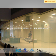 From 50 V to 240 V working voltage PDLC switchable Shower Room smart glass film