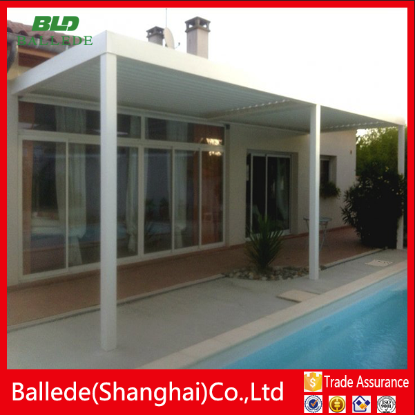 Outdoor waterproof pergola cover canopy