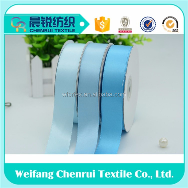 wholesale Factory supplier high quality 100% polyester satin ribbon