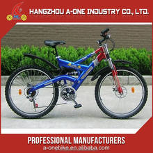 Top Grade Chinese Manufacturers Full Mountain Suspension Bike With Alloy Fork