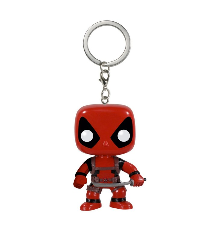 Funko pop figures Custom Keychain Hero Deadpool PVC car keychain