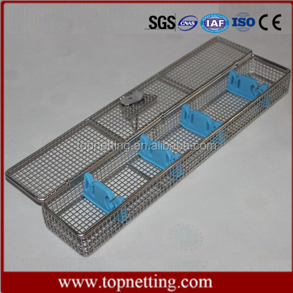 Wire mesh trays & baskets / Endoscope baskets