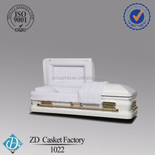 Adult coffin type and application steel metal casket