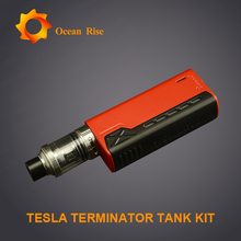 Tesla new products Tesla terminator 90w with mini design106g super vapor price philippines