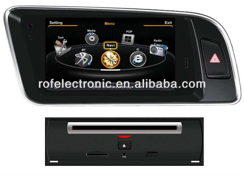 "7""car dvd navigation for Audi Q5"