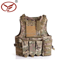 Airsoft Military Vest / Tactical Paintball Combat Soft Gear