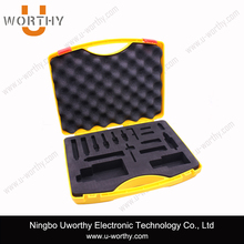 Handle Carrying Custom Foam Insert Plastic Tool Case