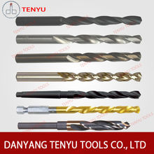 HSS drill bit for drilling metal and stainless steel