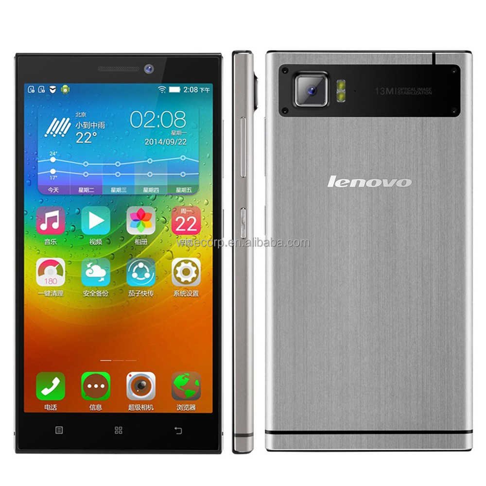 In Stock! Original Lenovo Vibe Z2 Mobile Phone 5.5 Inch IPS Screen Android Dual Sim 2GB Ram MSM8916 Quad Core LTE Phone