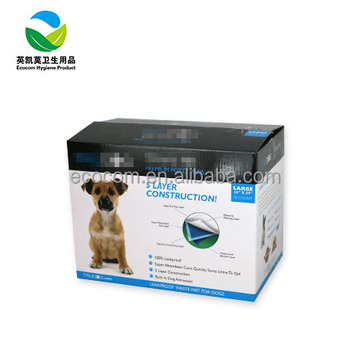 Disposable dog pad super absorbent