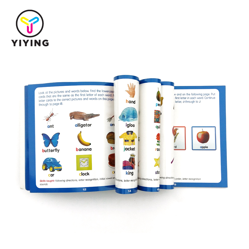 Factory supply letters kids learning book with wholesale price